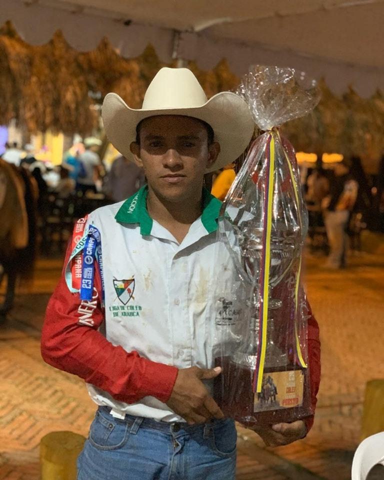 Yefren Cisneros- 4to puesto - Club Cabrestero