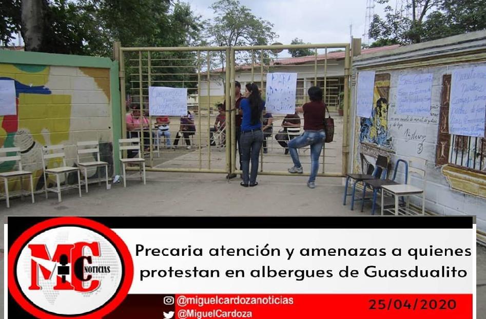 Otras enfermedades padecen en los albergues de Guasdualito-Estado Apure.