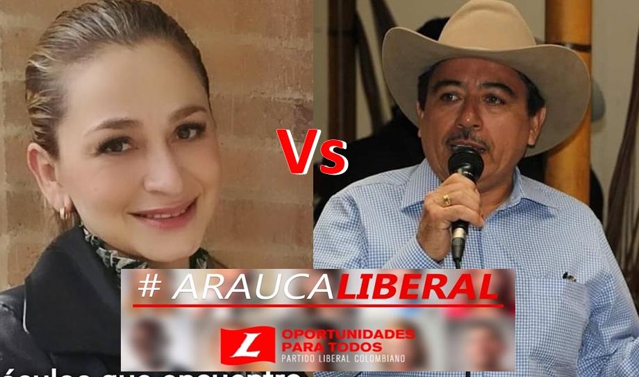 Pugna por dirección del partido en Arauca.-