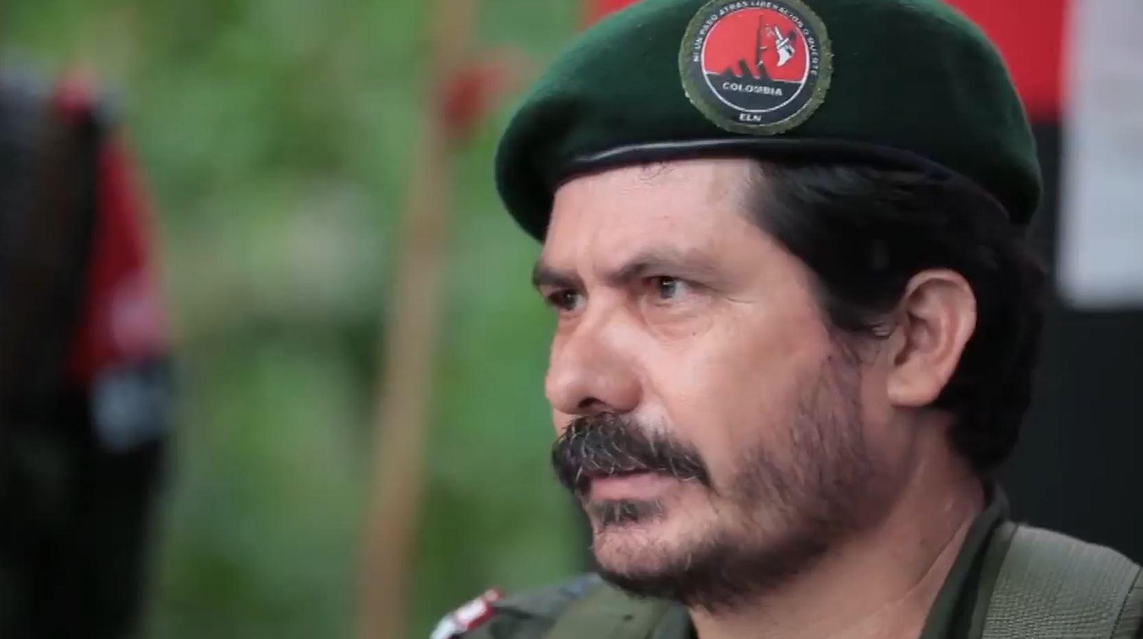 Gustavo Aníbal Giraldo, alias 'Pablito', jefe del denominado 'Frente Oriental de Guerra' del Eln.-