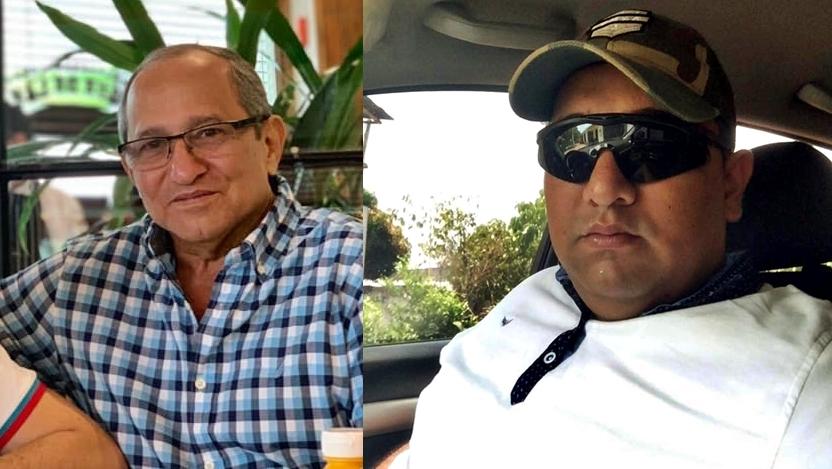Guillermo Acosta Arias y su hijo,  Guillermo Acosta Velásquez,