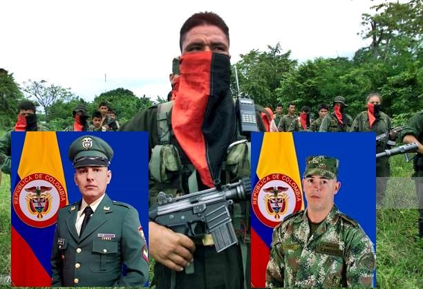 sargento segundo Fabián Andrés Espitia Calderón y al soldado profesional Elvis Andrés Flores Taborda