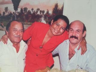 Octavio Sarmiento Q.E.P.D. , Omaira Acua y Marcos Ataya Q.E.P.D.