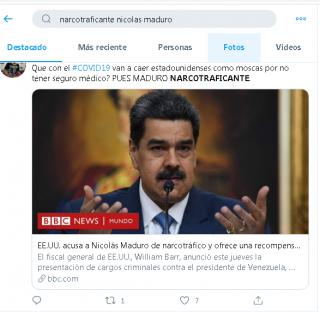 Jugosa recompensa ofrecen por Maduro y sus amigos.