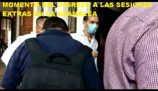 No hubo medios de comunicación en la Instalación de las Extras en la  Asamblea de Arauca.