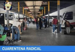 las terminales de transportes estarán cerradas por7 días