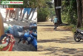 Otra victima de sicarios en el sector el Refugio de Arauca.