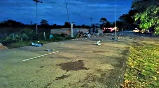 Con cilindros bomba fue atacado Ejercito bolivariano.-