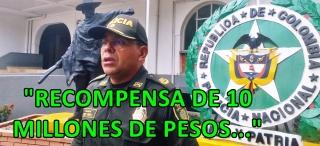 Comandante PONAL Arauca, Cr. Freddy Pérez.-