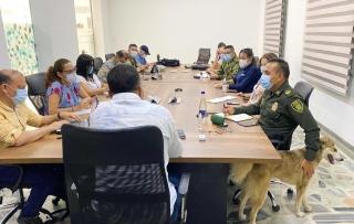 El Gobernador de Arauca, Facundo Castillo, presidió Consejo de Seguridad.-