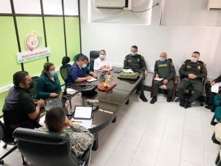 La Alcaldía de Arauca puso en funcionamiento estas 17 cámaras de seguridad.-